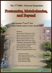 The 1st NIBB - Princeton Symposium