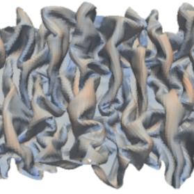 動物の管腔器官のヒダの形成における物理的な力の役割